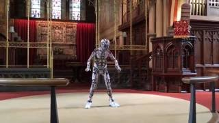 Pumpin' Iron   Robot Boys | Ollybot @ St. Peter's Church