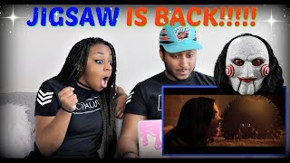 Jigsaw Trailer #1 (2017) REACTION!!!!