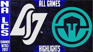 CLG vs Immortals Highlights ALL GAMES Week 7 NA LCS Summer 2017 CLG vs IMT