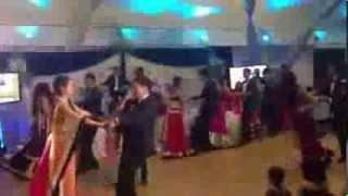 Rohin&Anancy Indian Wedding Reception Dance Performance :)