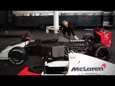 Xxx Mp4 FIRE UP 1991 McLaren MP4 6 V12 3gp Sex