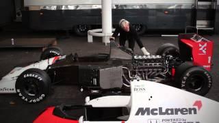 FIRE UP: 1991 McLaren MP4/6 V12