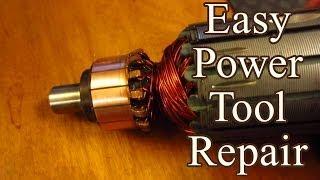 Easy Power Tool Fix: Burnt Commutator