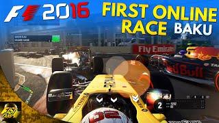 F1 2016 | First Online Race: AOR Social at Baku