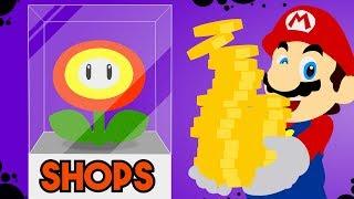 3 Designs for Shops in Super Mario Maker!