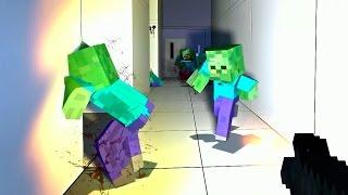 Zombie willyrex y staxx minecraft mod left 4 dead 2 parte 3