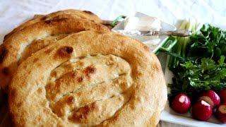 Armenian Flatbread Matnakash Recipe - Матнакаш Մատնաքաշ - Heghineh Cooking Show