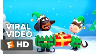 The Secret Life of Pets VIRAL VIDEO - Holiday Video Greeting (2016) - Animated Movie HD