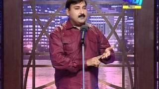 Hasya Kavi Ramesh Muskan criticising corrupt system at Dabang Channel