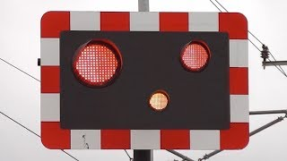 railway crossing lights gone crazy