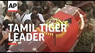 Hundreds grieve for slain Tamil Tiger leader
