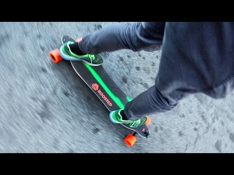FiRST TIME ON A BOOSTED BOARD FAiL