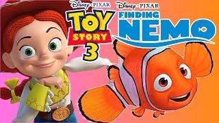 TOY STORY 3 ESPAÑOL BUSCANDO A NEMO!! (My Movie Games - Juegos De Peliculas Disney)