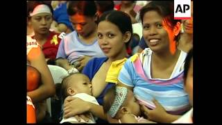 Mothers claim record for simultaneous breastfeeding