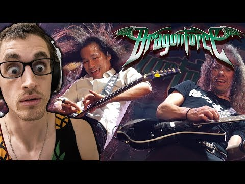 """Hip-Hop Head's FIRST TIME Hearing DRAGONFORCE: """"Through The Fire And Flames"""" REACTION"""