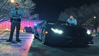 How I backed into someone with my Lamborghini