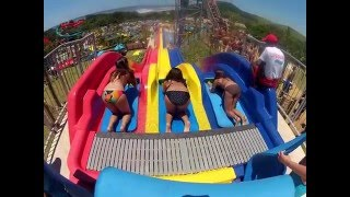 Very fast water slide at Wild Waves