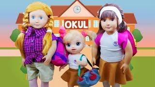 Okullar Açıldı ❗Oyuncak Bebekler Okulun İlk Günü ACAYİP Heyecanlı    Oyuncak Butiğim