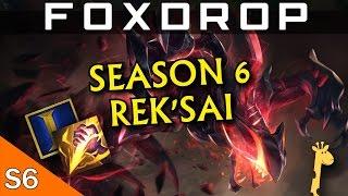 How to Play Rek'Sai Jungle in Season 6 - League of Legends