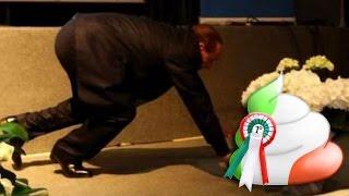 Silvio Berlusconi cade dal palco a Genova, dopo comizio di Forza Italia
