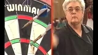 Darts Ladies World Masters 1994 Semi Final Hedman vs Reeson