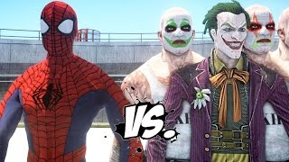Spiderman vs Joker - Epic Superheroes Battle | Death Fight