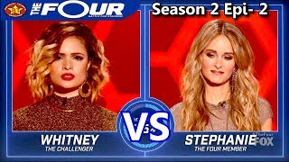 Whitney Reign vs Stephanie Zelaya The Four Season 2 S2e2