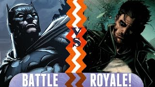 Batman vs. Punisher | Battle Royale Episode 2 | DC vs. Marvel