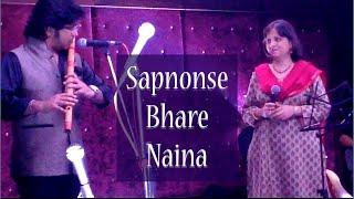Sapnon Se Bhare Naina by Leena Damle & Kartik Prasad