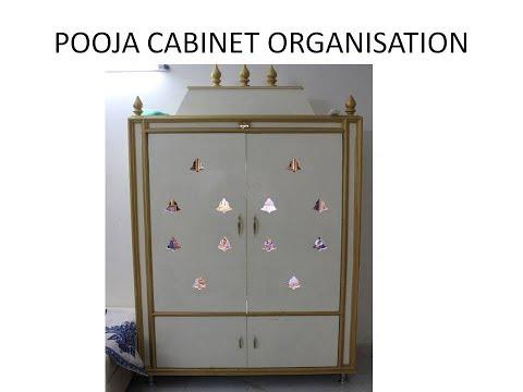 POOJA CABINET ORGANISATION || POOJA CABINET TOUR (ENGLISH )