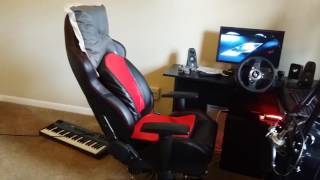 DIY FFB Gaming Chair Build and Review