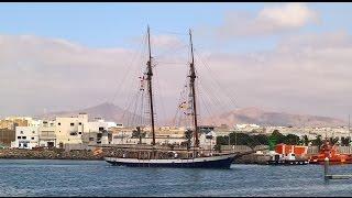 Accidente de la Bella Lucia en Marina Lanzarote