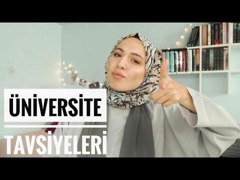 ÜNİVERSİTE TAVSİYELERİ || Arkadaşlıklar, kampüs hayatı, dersler...