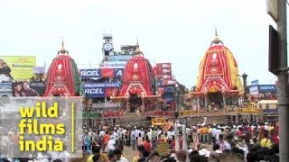 Chariot Festival of Lord Jagannath in Puri - Odisha