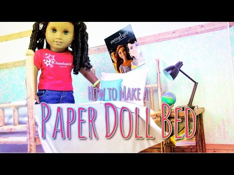 Xxx Mp4 DIY How To Make DOLL BED Paper Handmade Doll Crafts 3gp Sex