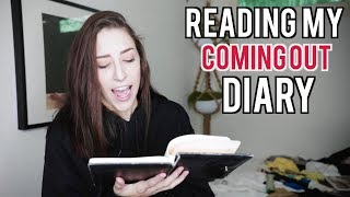 READING MY COMING OUT DIARY