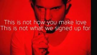 How To Start A War - Lyrics - Simon Curtis