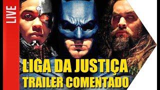 Trailer comentado de Liga da Justiça e TUDO da DC | OmeleTV AO VIVO