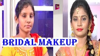 Real Bridal Makeup by Anoo's Beauty Parlour | Trendy Looks | Avani | HMTV