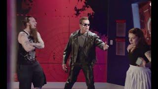 """Caracterizado como """"Exterminador"""", Schwarzenegger assusta visitantes de museu de cera"""