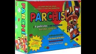 Unboxing DVD Boxset Peliculas de Parchis