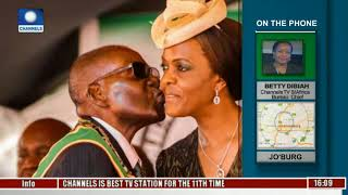 S/Africa Assault Case: 'Red Alert' Issued For Grace Mugabe