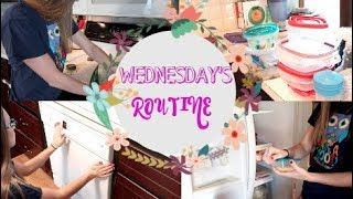 Daily Cleaning Routine!  Clean With Me on WEDNESDAY!