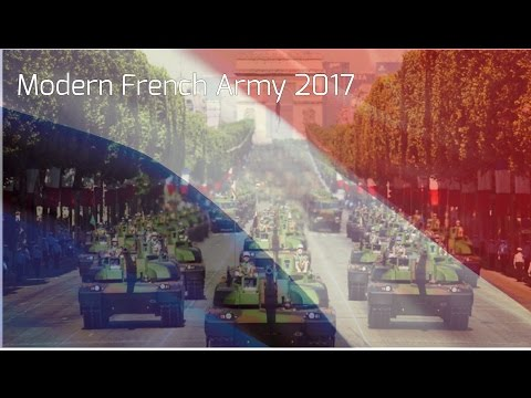 HD || Modern French Army 2017