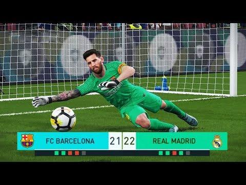 Xxx Mp4 PES 2018 Goalkeeper L MESSI Vs Goalkeeper C RONALDO Penalty Shootout Barcelona Vs Real Madrid 3gp Sex