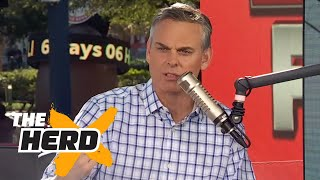Tom Brady bans his dad from media after he ripped Roger Goodell | THE HERD