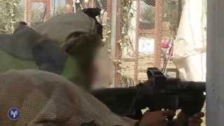 Caméra embarquée avec les soldats de Golani