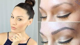My Microblading Experience | Vlog and Q&A