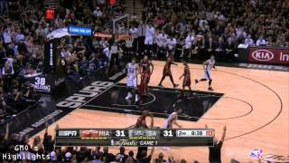 Heat vs Spurs: Game 1 Full Game Highlights 2014 NBA Finals - The No AC Game