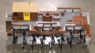 Wild Wild West LEGO Technic Robotic Walking Ship   BrickFair Alabama 2016